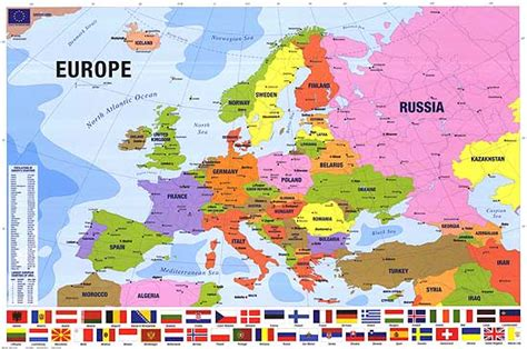 map of usa canada and europe map of europe posters at poster warehouse