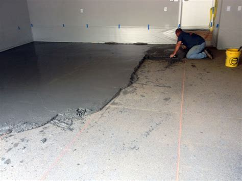 Repair Concrete Floor Fixing A Poorly Sloped Concrete Floor For Drainage Concreteideas