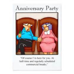 funny anniversary party spectickles invitations