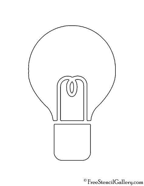Christmas Light Bulb Template 2017 Best Template Exles Intended For Christmas Lights Template Light Template