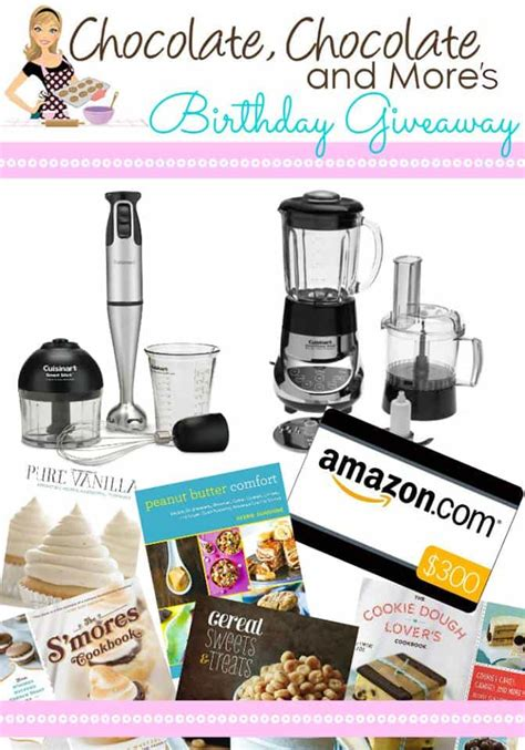Chocolate Giveaway - chocolate chocolate and more s birthday giveaway