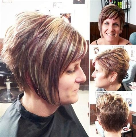 inverted bob hairstyle for women over 50 pictures of inverted bob hairstyles for over 50 short