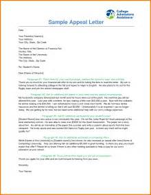 Sample appeal letter date your parent s name s your address your city