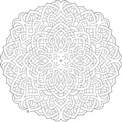 coloring books for grown ups celtic mandala coloring pages welcome to dover publications