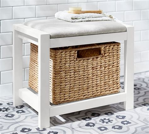 Bathroom Storage Stool Stool With Storage Best Storage Design 2017