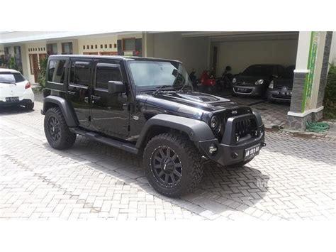 Wrangler Hitam jual mobil jeep wrangler 2012 3 6 di yogyakarta automatic