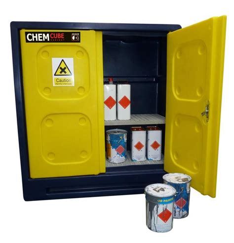 Chemical Storage Cabinets Secure Storage Durable Plastic Chemical Cabinet 1220x520x1310