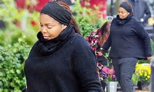 Janet Jackson Really Let Herself Go by Janet Jackson Displays Baby Bump While