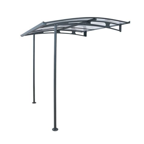 clear awning palram vega 2000 clear awning 703399 the home depot