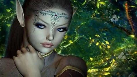 imagenes bellas de hadas y duendes ღڿڰ el bosque encantado duendes y hadas fantasyღڿڰ youtube