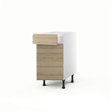駘駑ents bas de cuisine meuble de cuisine bas ch 234 ne blanchi 1 porte 1 tiroir