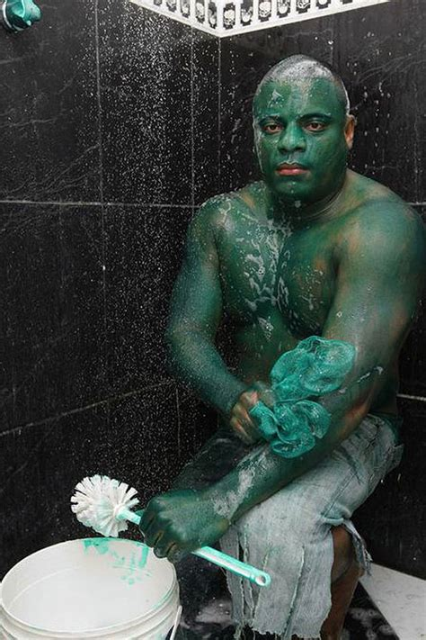 Skin With Green the who got green skin don t try this at home bit rebels
