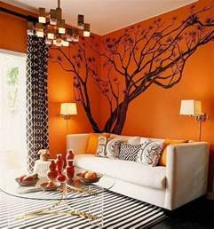Orange Salon Peinture Blanc Orange Salon Chaios