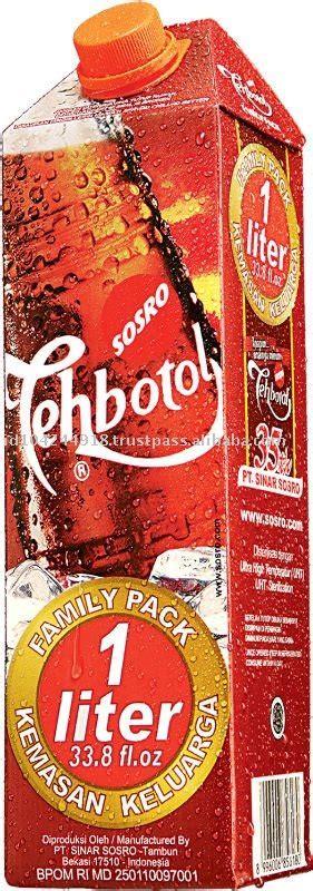 Teh Botol Kotak 1 Liter sosro tea buy tea flower tea health tea product on alibaba