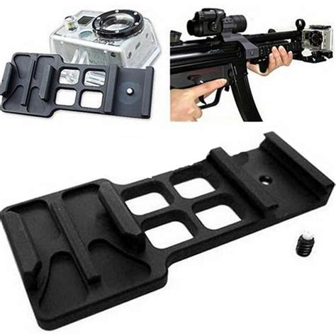 attacchi per lade gopro paintbal cantilever picatinny weaver rail mount