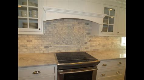 marble tile backsplash kitchen marble subway tile kitchen backsplash with feature