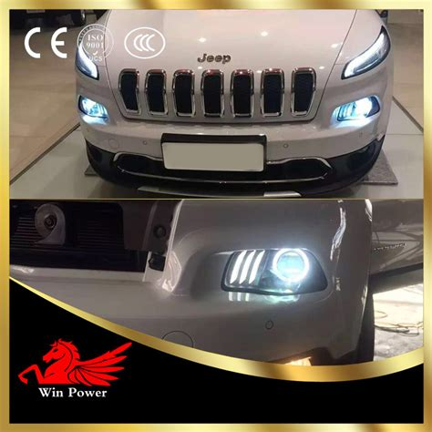 jeep 2014 headlights for 2014 2016 jeep headlights with led drl and bi