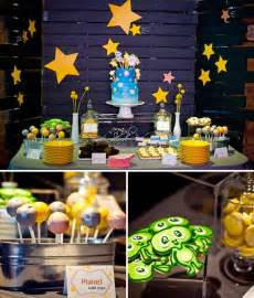 outer space themed baby shower baby