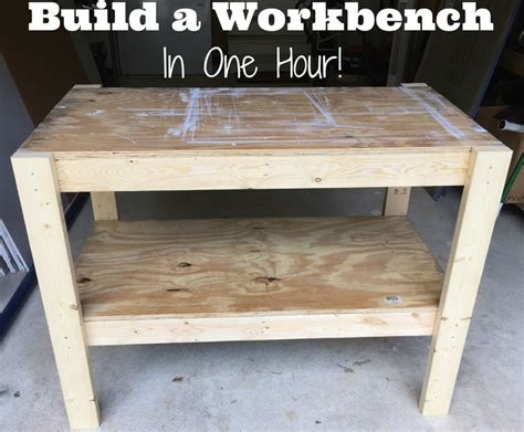 how to build a work table diy work table web guys woodworking