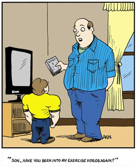 father and son cartoon father son moment by tim akin ink media culture