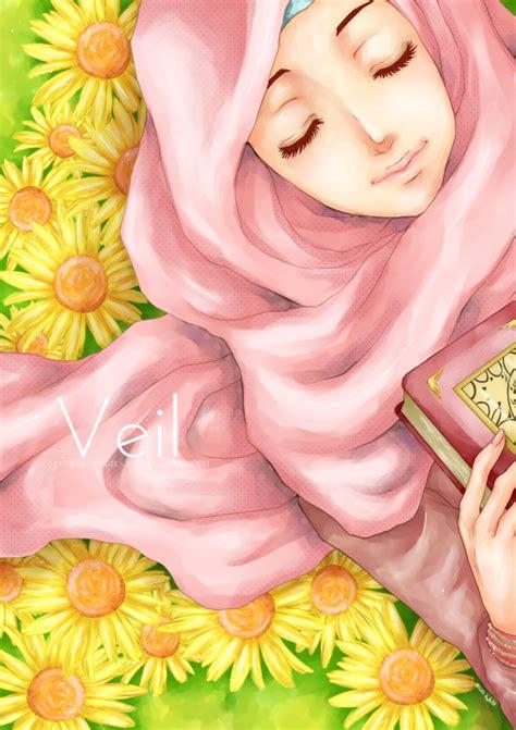 anime muslim girl wallpaper ika asma anime muslimah