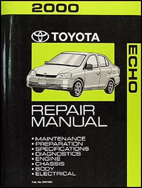 automotive service manuals 2000 toyota echo free book repair manuals search