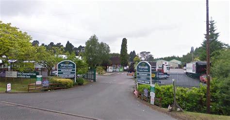 man rescued  windlesham garden centre