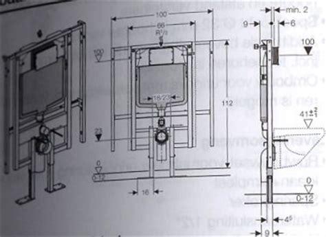 Afmetingen Ophang Wc by Zwevend Toilet Mogelijk