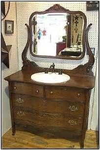 antique dresser with sink kitchen cabinet value
