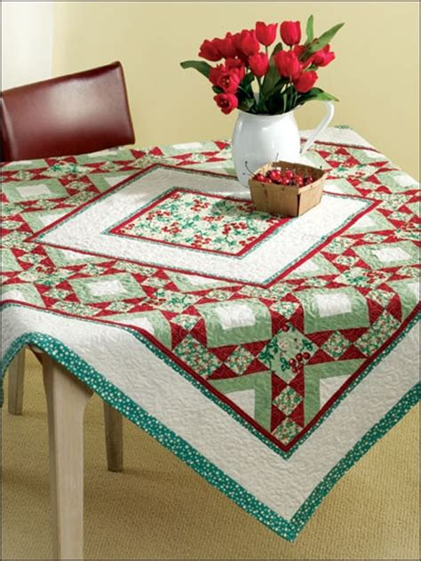 quilted tablecloth table linens 17 best images about quilted table cloths on