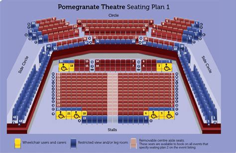 seating plan chesterfield theatres seating plans