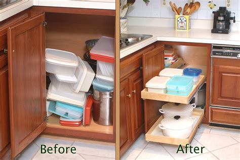 Shelfgenie Of Long Island Has Corner Cabinet Storage Kitchen Corner Cabinet Storage Solutions