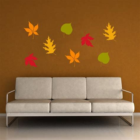 leaf wall stickers leaf wall decals 28 images falling leaves wall decals wall decal world wall decals bamboo