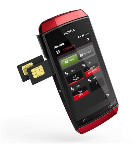 Hp Nokia Second Asha 305 nokia asha 305 with sim cards
