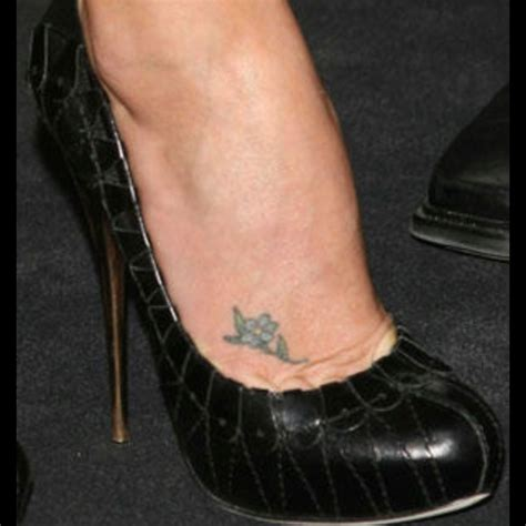charlize theron tattoo another of charlize theron the shoes and the