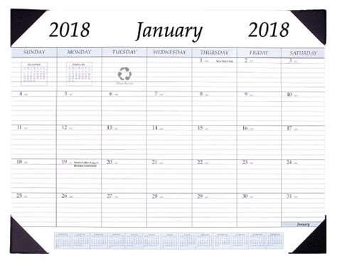Desktop Calendar 2018 desktop calendar in calendars and planners