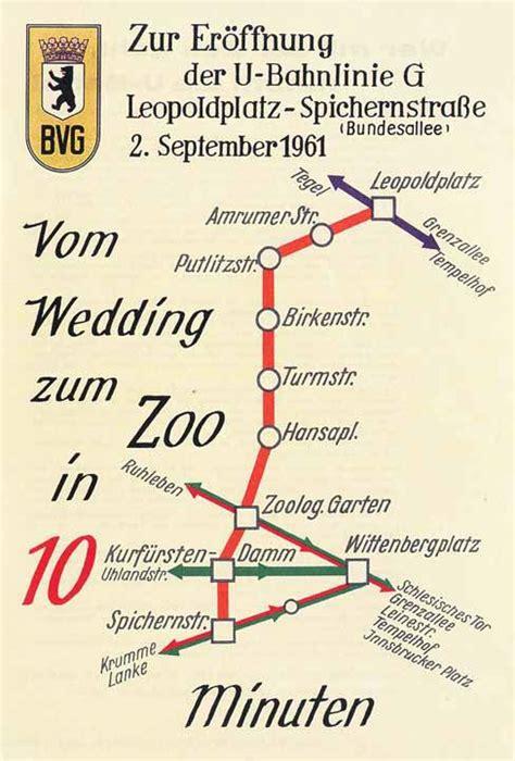 Bahnhof Zoologischer Garten Berlin Fahrplan by Die U Bahn Linie In Die Welt Morgen Signalarchiv De