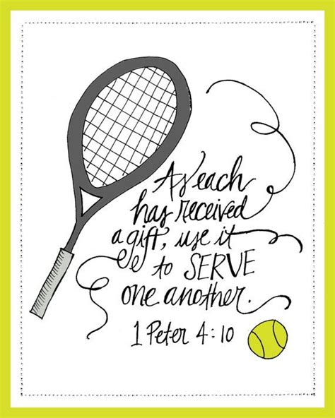 it s all in the and other tennis tales classic reprint books instant scripture printable tennis serve one
