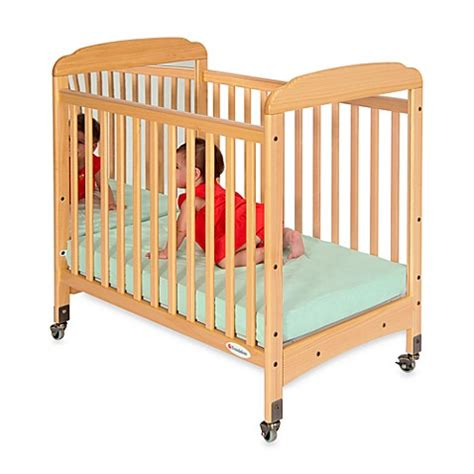 Foundations 174 Serenity 174 Compact Fixed Side Mirror End Crib Foundations Baby Cribs