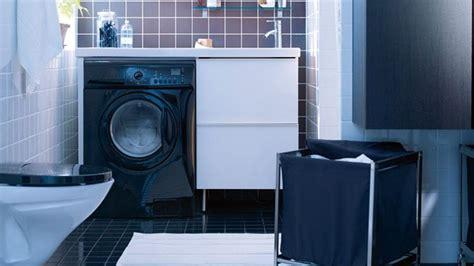 Charmant Meuble Dessus Machine A Laver #6: Installation-machine-a-laver-salle-de-bain.jpg