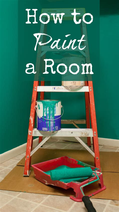how to paint a room basic instructions and tips