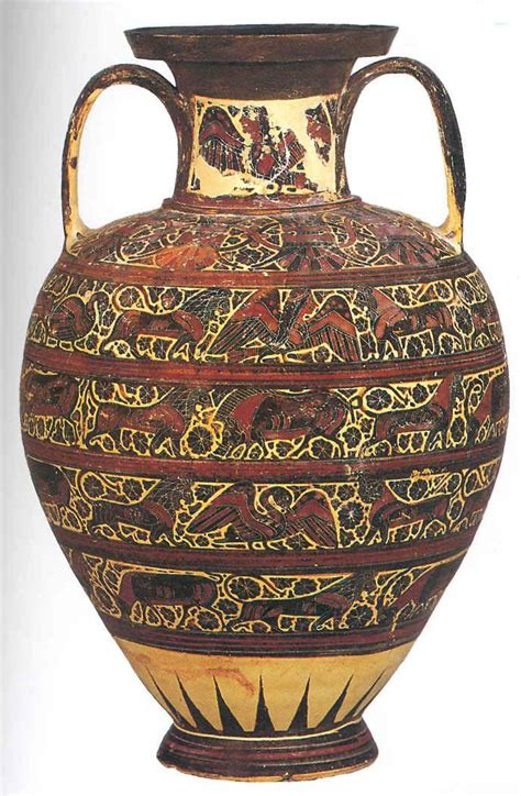 Ancient Vase Patterns by History 207a Montgomery Terms 1 History 207