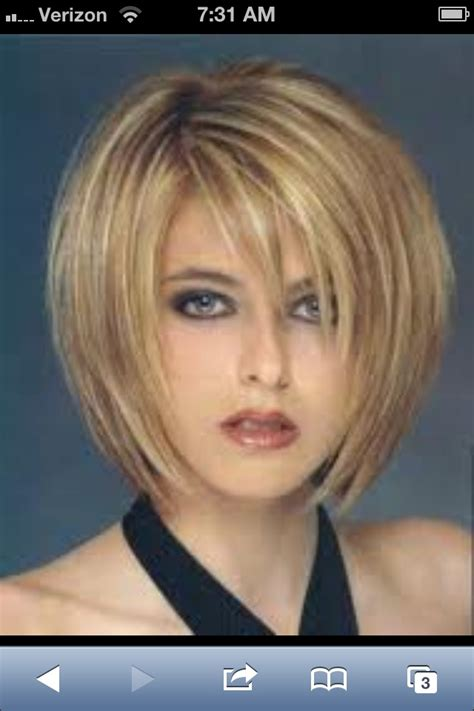 cute shoulder length haircuts longer in front and shorter in back cute sliced layered chin length bob haircut front back