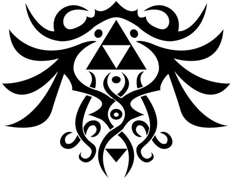 triforce tattoo design by umm tyler on deviantart