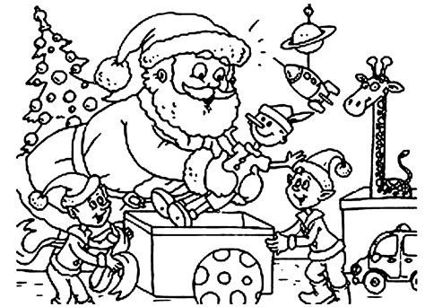 coloring pages elves santa elves coloring pages