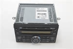 nissan qashqai 2007 radio stereo cd player bluetooth 28185