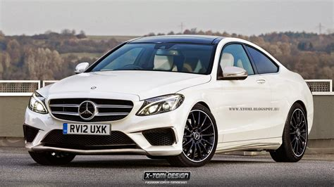 2015 mercedes c63 amg coupe rendering autoevolution