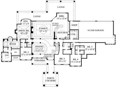 7 bedroom floor plans 8 bedroom ranch house plans 7 bedroom house plans 7