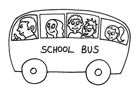 printable coloring pages school bus free coloring pages of school bus to print