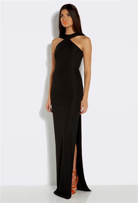 Maxi Black black maxi dress dressed up